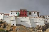 Shigatse Dzong, like a miniature Potola Palace