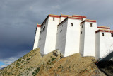 Shigatse Dzong from the northwest