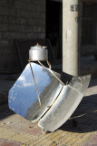Solar cooker, great idea