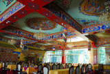 Dining room of the Shigatse Hotel
