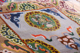 The final product, Tibet Gang-Gyen Carpet Factory, Shigatse