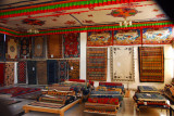 Showroom, Tibet Gang-Gyen Carpet Factory, Shigatse