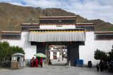 Main gate to Tashilhunpo Monastery, Shigatse