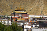 Tashilhunpo Monastery, one of the six great monasteries of the Gelugpa sect, was founded in 1447 by the 1st Dalai Lama