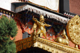 Golden garuda on the Tomb of the 10th Panchen Lama
