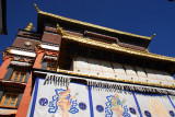 Kundun Lhakhang, Tomb of the 4th Panchen Lama, survived the Cultural Revolution in tact