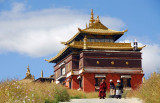 Tashi Langyar, Tomb of the 5th-9th Panchen Lamas