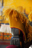 The yellow hat of the Gelugpa Sect