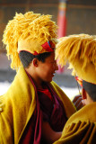 Novice monks of the Gelugpa order