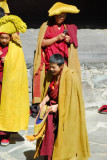 Yellow Hat monks
