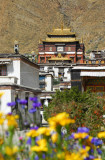 ...Kundun Lhakhang, Tomb of the 4th Panchen Lama