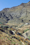 Tashilhunpo Kora Circuit leading up the hills behind the monastery