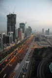 Sheikh Zayed Rd from U.P. Tower