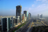 Traffic building on Sheikh Zayed Road