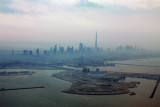 Dubai Maritime City with Sheikh Zayed Road skyline