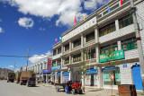 Friendship Highway as Main Street, Lhatse