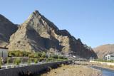 Shegar is dominated by an impressive fortress, Shegar Dzong