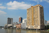 Escolta Twintowers on the north bank of Pasig River from MacArthur Bridge