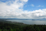 The first view of Lake Taal, Batangas Province, Luzon