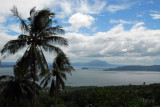 Viewpoint along the road from Talisay to the Tagaytay Highlands