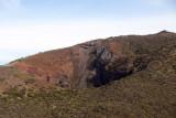 Medium-sized crater on the south side of Haleakala