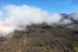 A cinder cone on the south flank of Haleakala