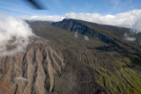 Approaching the Kaupo Gap, a deep valley eroded into the side of Haleakala