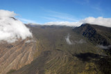Looking up the Kaupo Gap into the main crater of Haleakala