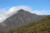 Clouds building on the crater rim of Mount Haleakala