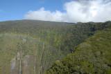 Last look at Manawainui Valley with a rainbow