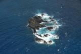 Rocks off Kipahulu on the southeast coast of Maui (N20.647/E156.054)