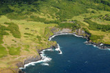 Cliffs at Kukui Bay, Maui, just off the Piilani Highway after the National Park visitor's center