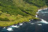 Coastal Kipahulu section of Haleakala National Park where the Ohe'o Gulch meets the Pacific