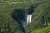 Waimoko Falls, a 400 foot drop at the top of the Pipiwai Trail, Haleakala National Park
