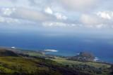 Kaihalulu Bay and Hana, Hawaii, the east end of Maui