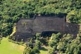 Piʻilanihale Heiau, made of basalt, 341 ft x 415 ft