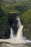Pu'ukukae Falls into the Pacific, Maui