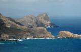 The rugged northwest Maui coast with Mokeehia Island, Hakuhee Point and Kahakuloa Head