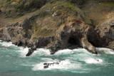Sea cave at the base of Kupaa Gulch, Maui (N20.955/W156.516)