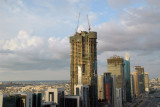 HHHR Tower (72 floors when complete) under construction