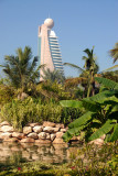 Etisalat Tower from Zabeel Park