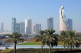 Sheikh Zayed Road from Zabeel Park