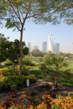 Etisalat Tower from Zabeel Park