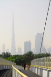 Burj Dubai from the Zabeel Bridge