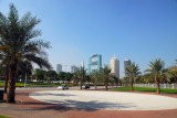 Plaza infront of the entrance to Zone B, Zabeel Park