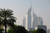 Emirates Towers from Zabeel Park