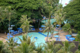 Pool of the Pacific Islands Club from the Guam Marriott Resort