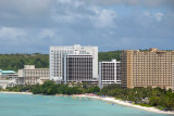 Central Tumon beach - Outrigger Resort, Guam Reef Hotel and Westin Resort