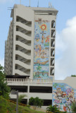 Mural on the side of Ohana Bay View, Tumon