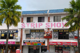 Away from the very center of Tumon, the strip bars resume